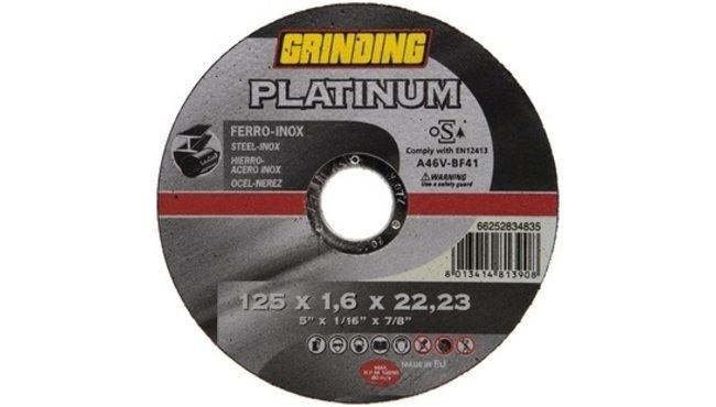 Grinding Platinum kappeskive 125mm