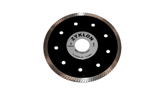 Zyklon Turbo fliseblad 125mm