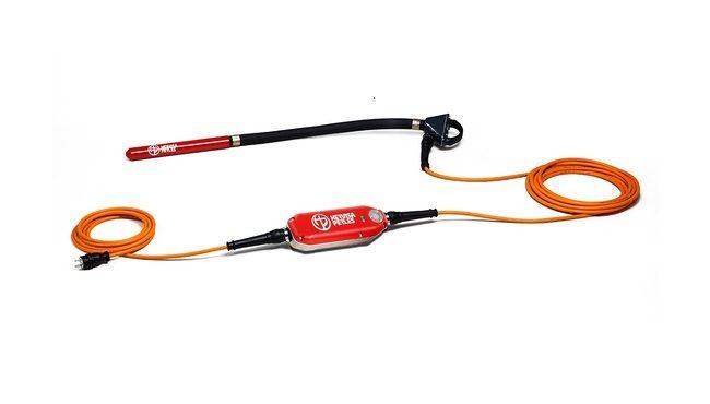 Vipock høyfrekvens vibrator 38mm m/omformer