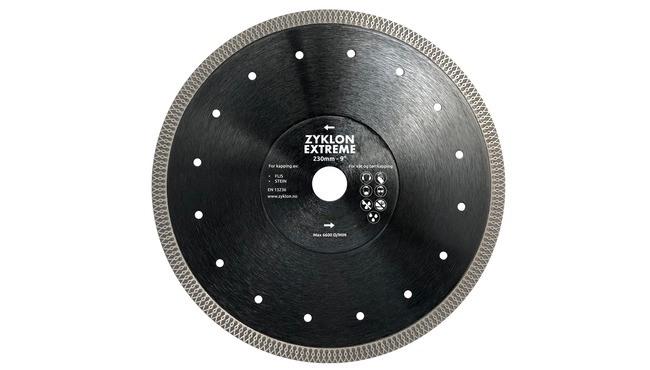 Zyklon Extreme 230mm fliseblad