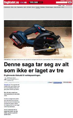 www.dagbladet.no (01.08.2015)